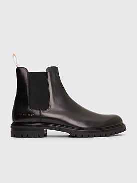 Common Projects Chelsea Lug Boots Black