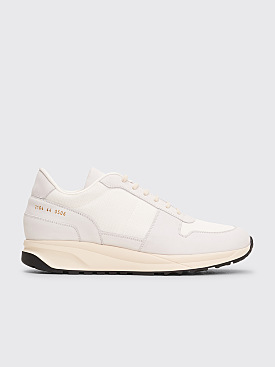 Common Projects Track Shoes Vintage White