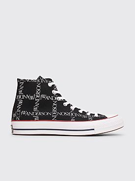 Converse x JW Anderson Chuck 70 HI Grid Black / White / Insignia Red