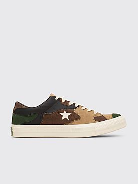 Converse x Sneakersnstuff One Star OX Canteen / Black Forest / White
