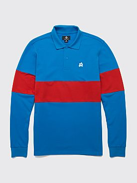 Converse x Golf le Fleur Stripe Polo Diva Blue