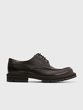Dries Van Noten Apron Derby Shoes Black