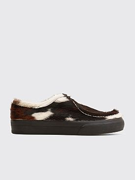Dries Van Noten Haircalf Sneakers Brown