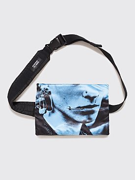 Raf Simons x Eastpak Poster Waistbag Black / Blue