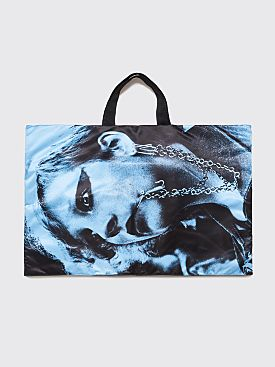 Raf Simons x Eastpak Poster Tote Bag Black / Blue