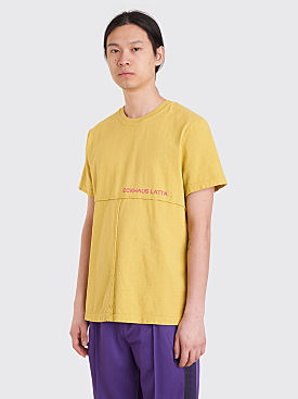 Eckhaus Latta Lapped T-Shirt Moss Green