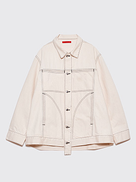 Eckhaus Latta Denim Jacket Natural