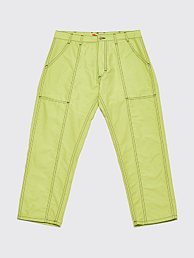 Eckhaus Latta Blunt Pants Lime Green
