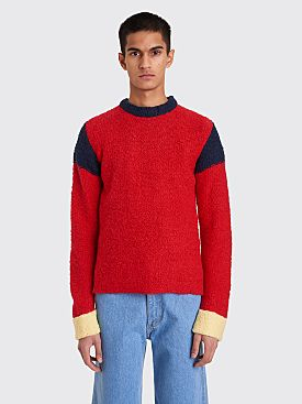 Eckhaus Latta Kermit Sweater Red