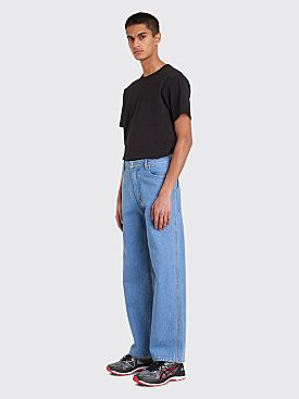 Eckhaus Latta Wide EL Jean True Blue