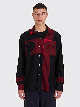 Engineered Garments Classic Shirt Black / Red