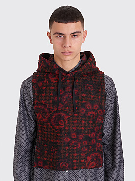 Engineered Garments Hooded Interliner Red / Black