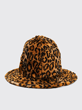 Engineered Garments Dome Hat Light Brown Cheetah