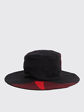 Engineered Garments Crusher Hat Red / Black