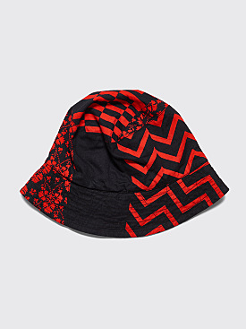 Engineered Garments Bucket Hat Red / Black
