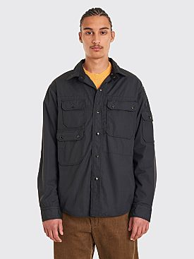 Engineered Garments CPO Shirt Ripstop Black