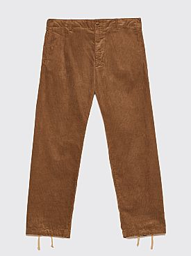Engineered Garments Benson Trousers Corduroy Khaki