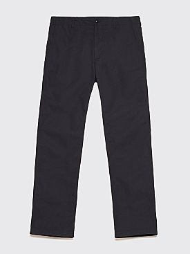 Engineered Garments Ground Trousers Ripstop Black