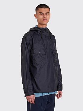 Engineered Garments Nylon Ripstop Cagoule Overshirt Dark Navy