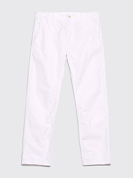 Engineered Garments Ground Pants Ripstop White
