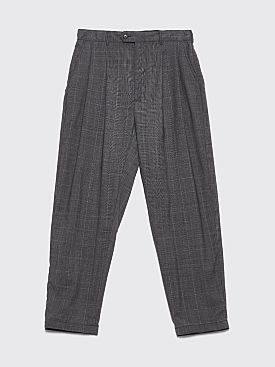 Engineered Garments Emerson Pants Tropical Wool Glen Plaid Grey