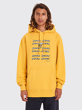 Fucking Awesome Yuck Hooded Sweatshirt Mustard