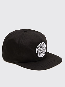 Fucking Awesome Spiral Hat Black