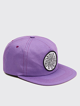 Fucking Awesome Spiral Hat Dark Violet