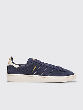 Adidas Originals Campus Trace Blue / Chalk  White / Gold Metallic