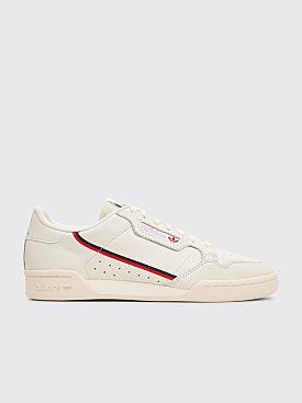 Adidas Originals Continental 80 'Rascal' White Tint / Off White / Scarlet