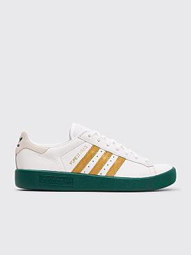 Adidas Originals Forest Hills White Gold Metal Collegiate Green