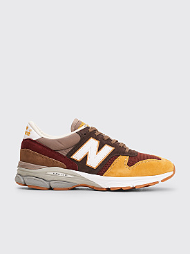 New Balance M7709FT Burgundy / Brown