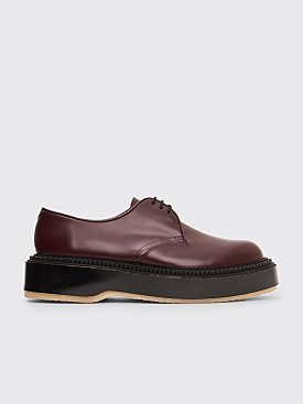 Adieu x Undercover Type 54C Polido Derby Shoes Prune