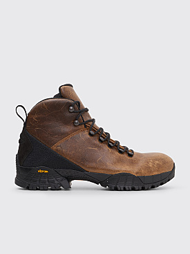 ROA Andreas Leather Hiking Boots Tan