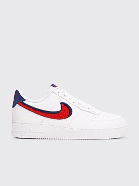 Nike Sportswear Air Force 1 07 LV8 White / Navy