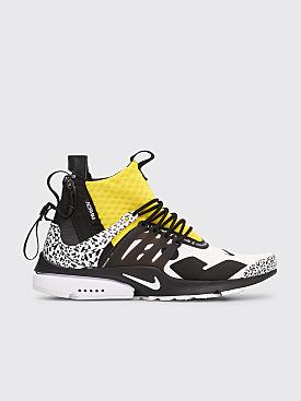 NikeLab x Acronym Air Presto Mid White / Dynamic Yellow