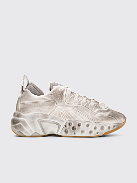 Acne Studios Rockaway Tumbled Sneakers White