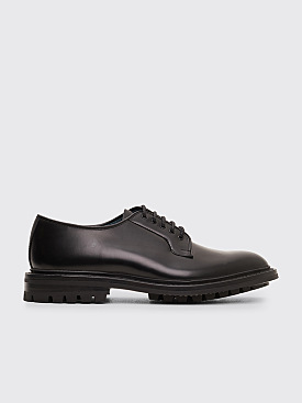 Très Bien x Tricker's Block Box Calf Derby Shoes Black