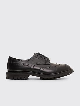 Très Bien x Tricker's Block Box Calf Brogues Shoes Black