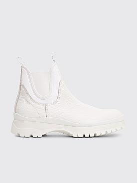 Prada Chelsea Boots White