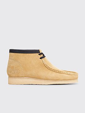 Clarks Originals x Wu Wear Wallabee Suede Maple