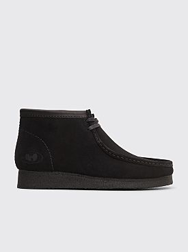 Clarks Originals x Wu Wear Wallabee Suede Black