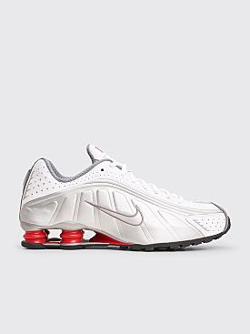 Nike Sportswear Shox R4 White / Metallic Silver