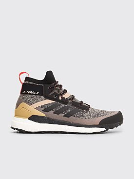 adidas Consortium Terrex Free Hiker Core Black / Shock Red