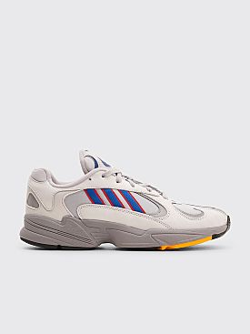 adidas Yung-1 Grey Two / Collegiate Royal / Scarlet