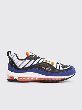 Nike Air Max 98 White / Deep Royal Blue