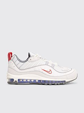 Nike Air Max 98 Summit White / Metallic Silver