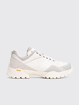 ROA Oblique Sneakers Silver