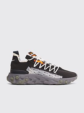Nike React WR Ispa Black / Metallic Silver