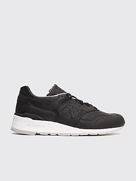 New Balance M997 Bison Black